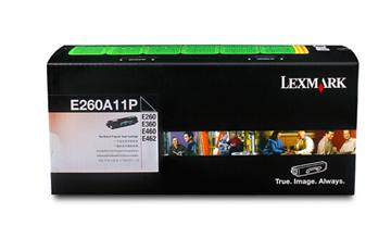 图片 利盟(Lexmark)E260A11P 打印机粉盒 黑色 适用于利盟E260/360dn/d E460dn/dw E462dtn