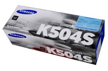 图片 三星(Samsung)CLT-K504S 黑色 粉盒 适用于CLP-415N CLX-4195N 4195FN