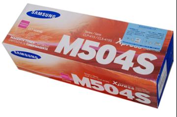 图片 三星(Samsung)CLT-M504S 红色 粉盒 适用于CLP-415N CLX-4195N 4195FN
