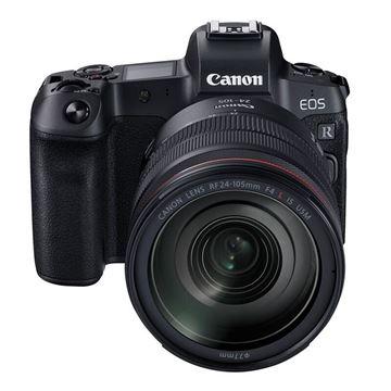 图片 佳能(Canon) 黑色 单反相机 EOS R (24-105mm F4 L IS USM镜头)